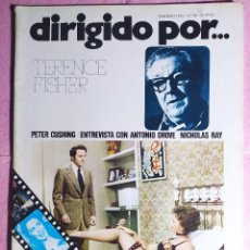 Cine: REVISTA CINE DIRIGIDO POR Nº 20 - TERENCE FISHER - ANTONIO DROVE - NICHOLAS RAY. Lote 242150990
