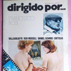 Cine: REVISTA CINE DIRIGIDO POR Nº 23 - FRANCESCO ROSI - KEN RUSSELL - DANIEL SCHMID. Lote 242155880
