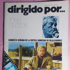 Cine: REVISTA CINE DIRIGIDO POR Nº 14 - JOHN HUSTON - CANNES 74. Lote 242156700