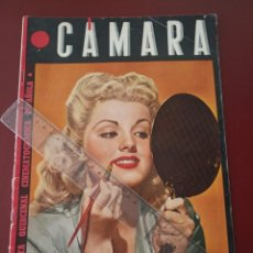 Cine: REVISTA CAMARA Nº 47 - JULIO REY , JUDY GARLAND , DIANA LEWIS Y WILLIAN POWELL , JOAN CRAWFORD. Lote 242474085