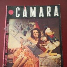 Cine: REVISTA CAMARA Nº 65 - AURORA MIRANDA - ANA MARISCAL - GRETA GARBO - MARLENE DIETRICH - VIVIEN LEICH. Lote 242477465