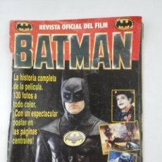 Cine: BATMAN REVISTA OFICIAL DEL FILM. Lote 242487445