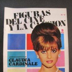 Cine: CLAUDIA CARDINALE-FIGURAS DEL CINE Y LA CANCION-BIOGRAFIA CON FOTOS-VER FOTOS-(K-1882). Lote 242874195