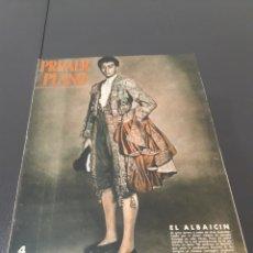 Cine: N° 612. AÑO 1952. IGNACIO ZULOAGA, JACQUES MORLAINE, VICENTE CASANOVA, SIMONE VALERE, RAF VALLONE.. Lote 242945955