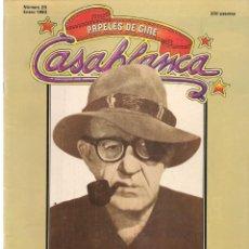 Cine: PAPELES DE CINE. CASABLANCA. FASCÍCULO Nº 25. JOHN FORD. ENERO 1983 (ST/MG/B). Lote 243012895