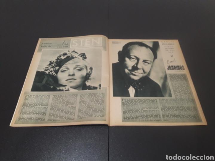 Cine: N° 310. AÑO 1946. AURORA MIRANDA, GRETA GARBO, EMIL JANNINGS, JENNIFER JONES, OLIVIA DE HAVILLAND, - Foto 3 - 243013455