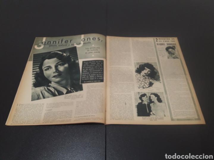 Cine: N° 310. AÑO 1946. AURORA MIRANDA, GRETA GARBO, EMIL JANNINGS, JENNIFER JONES, OLIVIA DE HAVILLAND, - Foto 5 - 243013455