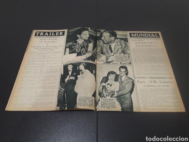 Cine: N° 310. AÑO 1946. AURORA MIRANDA, GRETA GARBO, EMIL JANNINGS, JENNIFER JONES, OLIVIA DE HAVILLAND, - Foto 7 - 243013455