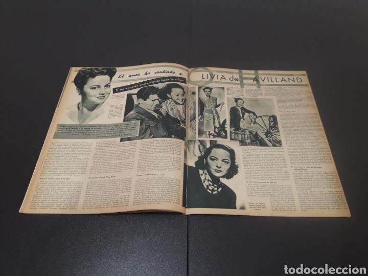 Cine: N° 310. AÑO 1946. AURORA MIRANDA, GRETA GARBO, EMIL JANNINGS, JENNIFER JONES, OLIVIA DE HAVILLAND, - Foto 8 - 243013455
