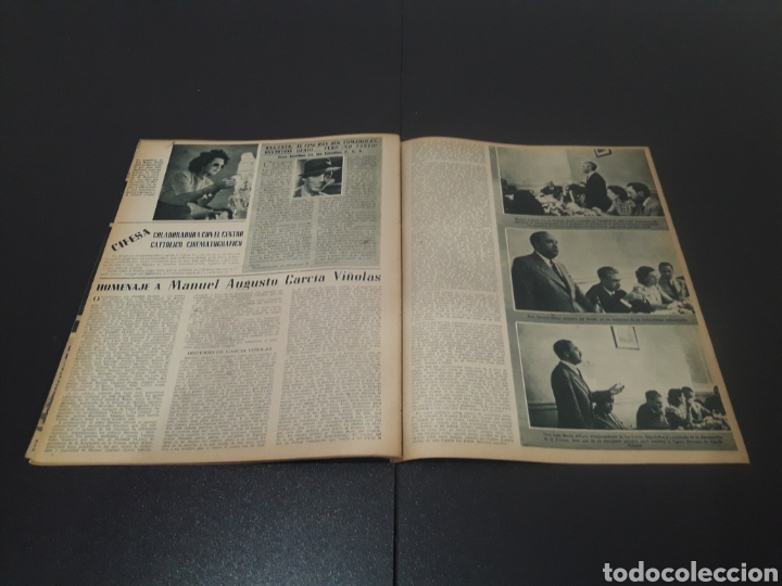 Cine: N° 310. AÑO 1946. AURORA MIRANDA, GRETA GARBO, EMIL JANNINGS, JENNIFER JONES, OLIVIA DE HAVILLAND, - Foto 11 - 243013455