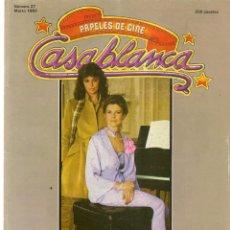 Cine: PAPELES DE CINE. CASABLANCA. FASCÍCULO Nº 27. GEORGE CUKOR. MARZO 1983 (ST/MG/B). Lote 243013500