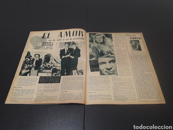 Cine: N° 313. AÑO 1946. ELLA RAINES, MARIO MORENO, DOUGLAS FAIRBANKS, TURHAN BEY. - Foto 5 - 243014455