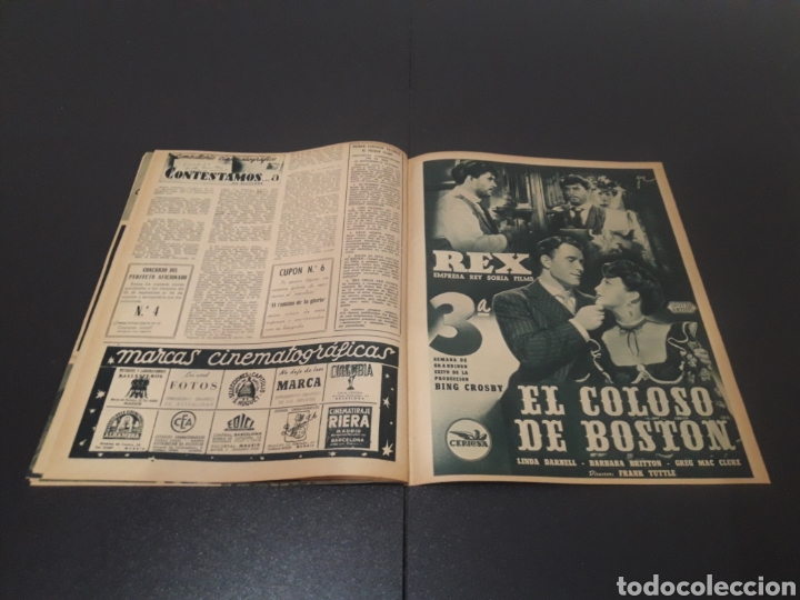 Cine: N° 313. AÑO 1946. ELLA RAINES, MARIO MORENO, DOUGLAS FAIRBANKS, TURHAN BEY. - Foto 11 - 243014455