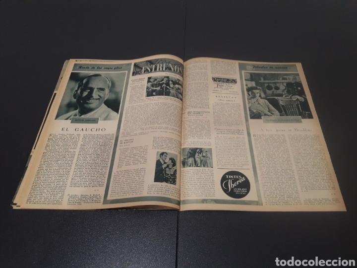 Cine: N° 313. AÑO 1946. ELLA RAINES, MARIO MORENO, DOUGLAS FAIRBANKS, TURHAN BEY. - Foto 12 - 243014455