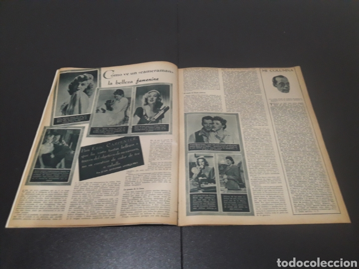 Cine: N° 314. AÑO 1946. JEAN ROGER, MARILYN MAXWELL, DOUGLAS FAIRBANKS, ERIC CARPENTER, AMADEO NAZZARI, VI - Foto 5 - 243019575