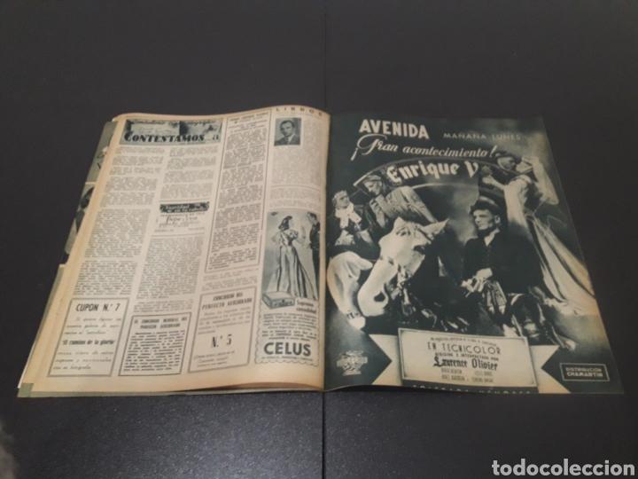 Cine: N° 314. AÑO 1946. JEAN ROGER, MARILYN MAXWELL, DOUGLAS FAIRBANKS, ERIC CARPENTER, AMADEO NAZZARI, VI - Foto 11 - 243019575
