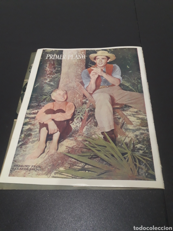 Cine: N° 314. AÑO 1946. JEAN ROGER, MARILYN MAXWELL, DOUGLAS FAIRBANKS, ERIC CARPENTER, AMADEO NAZZARI, VI - Foto 15 - 243019575