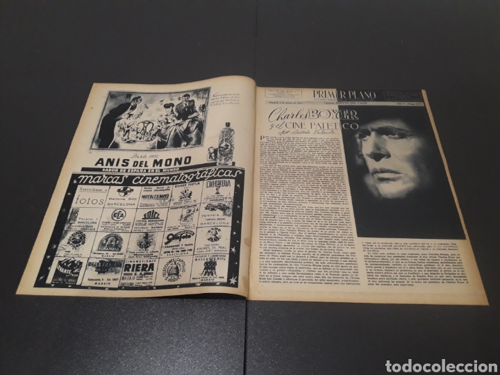 Cine: N° 177. AÑO 1944. ROSITA YARZA, CHARLES BOYER, RAMÓN BARREIRO, SERGIO LIFAR, JERÓNIMO MIHURA, JOSE M - Foto 2 - 243023760