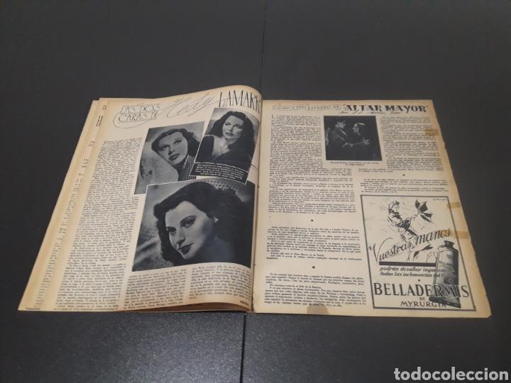 Cine: N° 176. AÑO 1944. CELIA GÁMEZ, EUGENIA DE MONTIJO, RAFAEL RIVELLES, HEDY LAMARR, EDGAR NEVILLE. - Foto 6 - 243024455