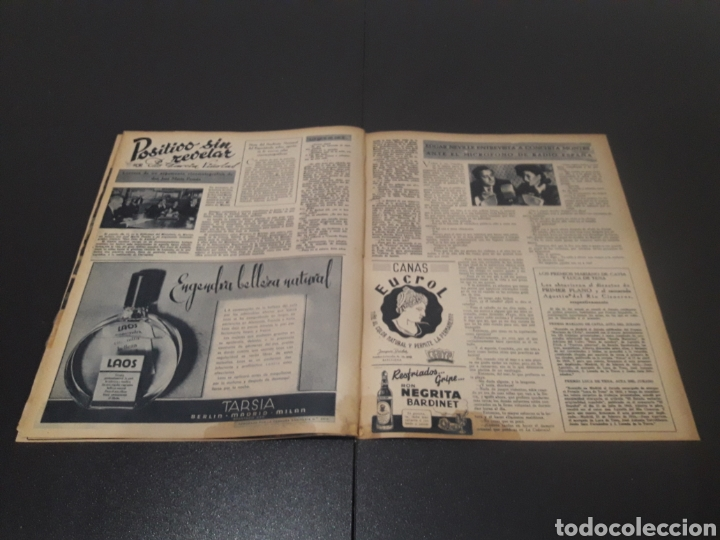 Cine: N° 176. AÑO 1944. CELIA GÁMEZ, EUGENIA DE MONTIJO, RAFAEL RIVELLES, HEDY LAMARR, EDGAR NEVILLE. - Foto 9 - 243024455