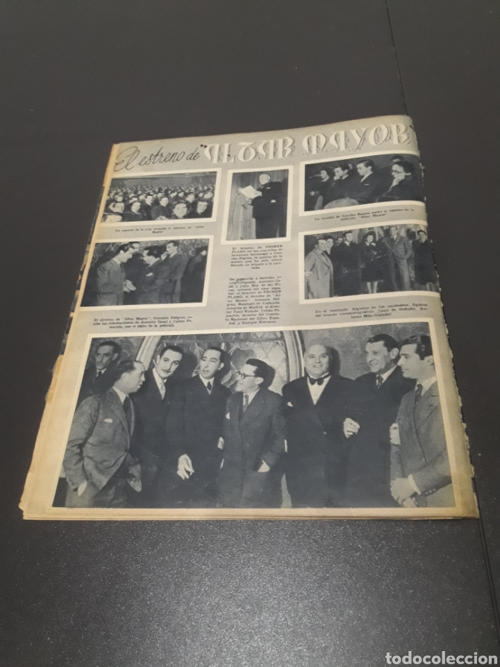 Cine: N° 176. AÑO 1944. CELIA GÁMEZ, EUGENIA DE MONTIJO, RAFAEL RIVELLES, HEDY LAMARR, EDGAR NEVILLE. - Foto 13 - 243024455
