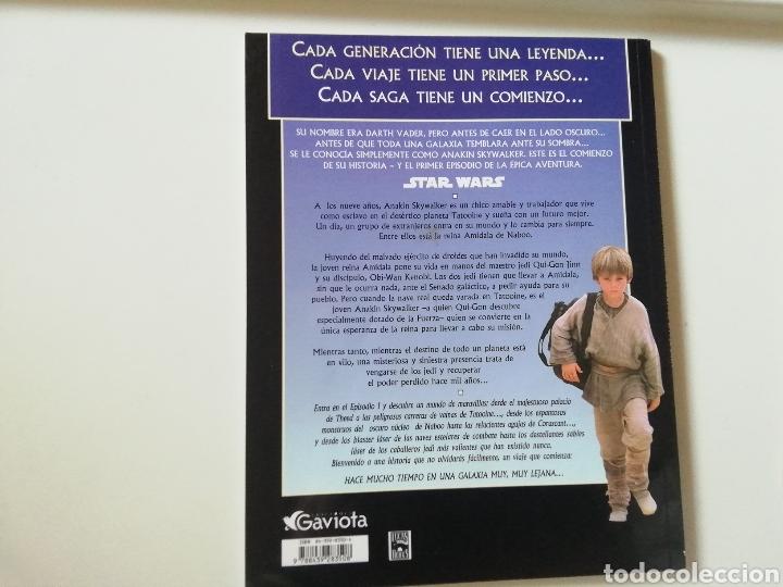 Cine: STAR WARS EPISODIO I LA AMENAZA FASTAMA. EL ÁLBUM DE LA PELÍCULA. - Foto 5 - 243047105