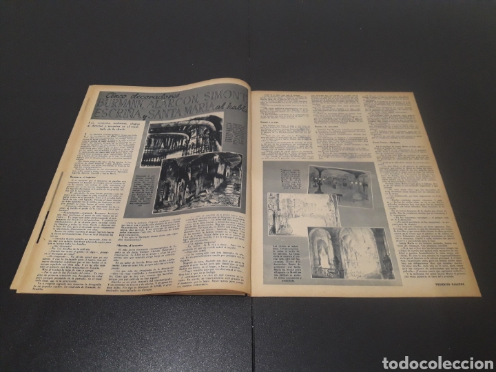 Cine: N° 175. AÑO 1944. MERCEDES VECINO, JOEL MAC CREA, EUGENIA DEL MONTIJO, EDWIGE FEUILLÉRE, MARUCHI FRE - Foto 5 - 243115750