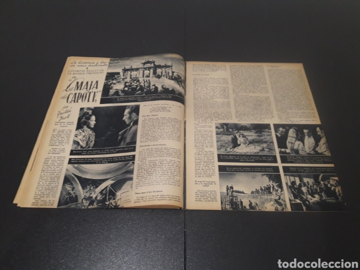 Cine: N° 175. AÑO 1944. MERCEDES VECINO, JOEL MAC CREA, EUGENIA DEL MONTIJO, EDWIGE FEUILLÉRE, MARUCHI FRE - Foto 6 - 243115750