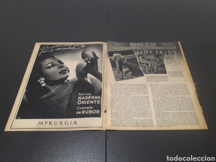 Cine: N° 190. AÑO 1944. KAG WILLIAMS, JOAN FONTAINE, CONCHITA MONTES, LLOBET GARCIA, CONCHITA MONTENEGRO, - Foto 2 - 243119500
