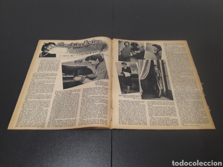 Cine: N° 190. AÑO 1944. KAG WILLIAMS, JOAN FONTAINE, CONCHITA MONTES, LLOBET GARCIA, CONCHITA MONTENEGRO, - Foto 4 - 243119500