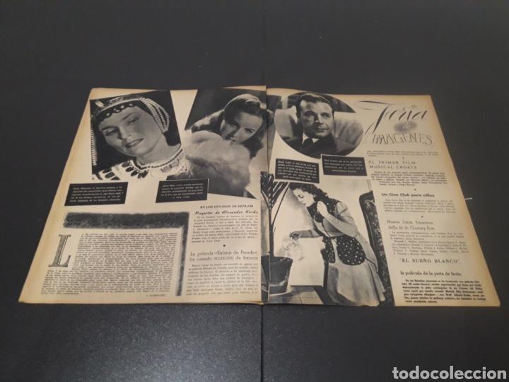 Cine: N° 190. AÑO 1944. KAG WILLIAMS, JOAN FONTAINE, CONCHITA MONTES, LLOBET GARCIA, CONCHITA MONTENEGRO, - Foto 8 - 243119500