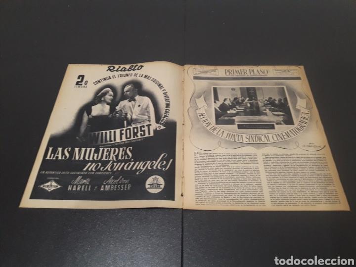 Cine: N° 189. AÑO 1944. PAOLA BARBARA, JOSÉ NIETO, ANGEL DE ANDRES, RUTH BRADY, MAURICE CHEVALIER, ABAD O - Foto 2 - 243120005