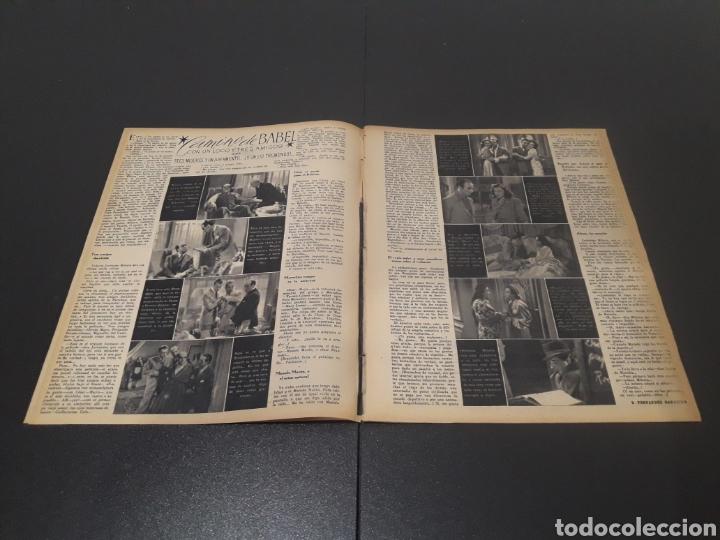 Cine: N° 189. AÑO 1944. PAOLA BARBARA, JOSÉ NIETO, ANGEL DE ANDRES, RUTH BRADY, MAURICE CHEVALIER, ABAD O - Foto 3 - 243120005