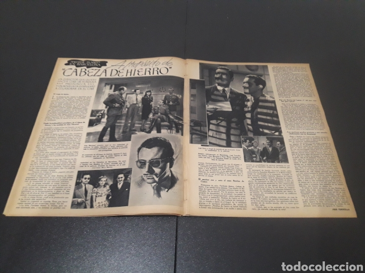 Cine: N° 189. AÑO 1944. PAOLA BARBARA, JOSÉ NIETO, ANGEL DE ANDRES, RUTH BRADY, MAURICE CHEVALIER, ABAD O - Foto 5 - 243120005