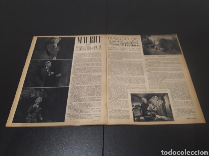 Cine: N° 189. AÑO 1944. PAOLA BARBARA, JOSÉ NIETO, ANGEL DE ANDRES, RUTH BRADY, MAURICE CHEVALIER, ABAD O - Foto 10 - 243120005