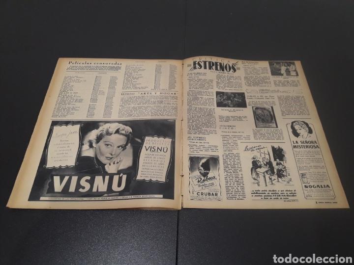 Cine: N° 189. AÑO 1944. PAOLA BARBARA, JOSÉ NIETO, ANGEL DE ANDRES, RUTH BRADY, MAURICE CHEVALIER, ABAD O - Foto 12 - 243120005