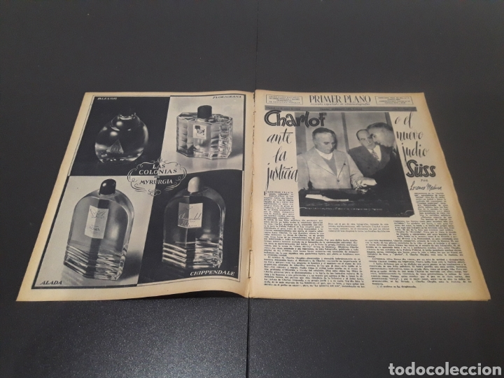 Cine: N° 187. AÑO 1944. ALICIA ROMAY, FUNNYMAN CHAPLIN, CHARLOT, ANA MARISCAL, ELFIE MAYERHOFER, RAFAEL DU - Foto 2 - 243120685