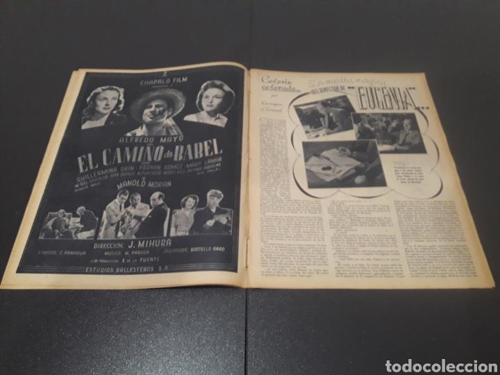 Cine: N° 187. AÑO 1944. ALICIA ROMAY, FUNNYMAN CHAPLIN, CHARLOT, ANA MARISCAL, ELFIE MAYERHOFER, RAFAEL DU - Foto 3 - 243120685