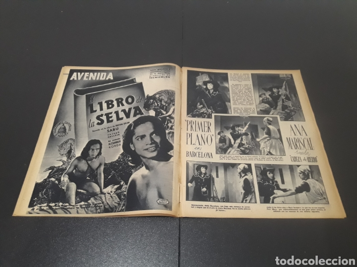 Cine: N° 187. AÑO 1944. ALICIA ROMAY, FUNNYMAN CHAPLIN, CHARLOT, ANA MARISCAL, ELFIE MAYERHOFER, RAFAEL DU - Foto 4 - 243120685