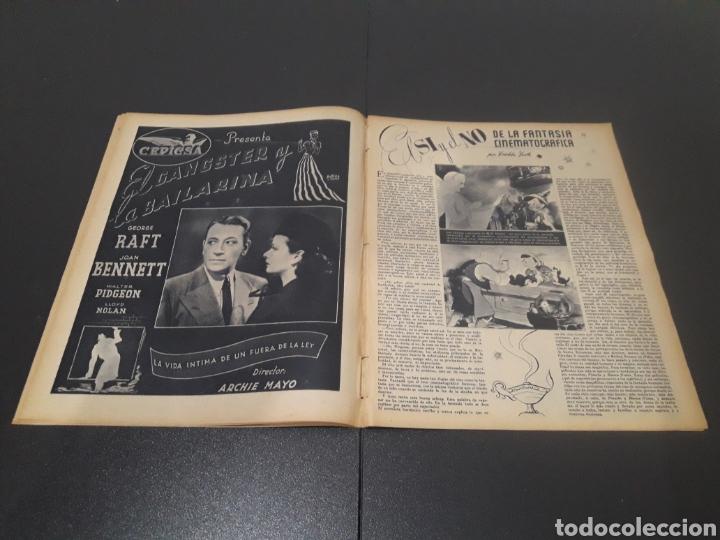 Cine: N° 187. AÑO 1944. ALICIA ROMAY, FUNNYMAN CHAPLIN, CHARLOT, ANA MARISCAL, ELFIE MAYERHOFER, RAFAEL DU - Foto 5 - 243120685