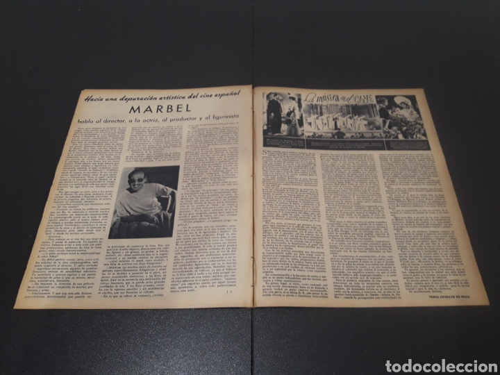Cine: N° 187. AÑO 1944. ALICIA ROMAY, FUNNYMAN CHAPLIN, CHARLOT, ANA MARISCAL, ELFIE MAYERHOFER, RAFAEL DU - Foto 9 - 243120685