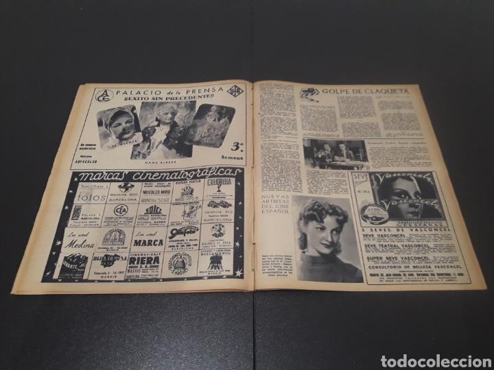 Cine: N° 187. AÑO 1944. ALICIA ROMAY, FUNNYMAN CHAPLIN, CHARLOT, ANA MARISCAL, ELFIE MAYERHOFER, RAFAEL DU - Foto 11 - 243120685
