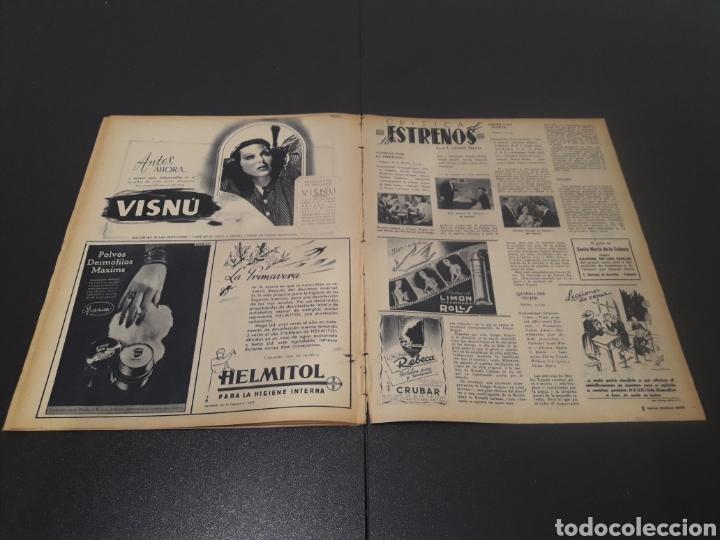 Cine: N° 187. AÑO 1944. ALICIA ROMAY, FUNNYMAN CHAPLIN, CHARLOT, ANA MARISCAL, ELFIE MAYERHOFER, RAFAEL DU - Foto 12 - 243120685