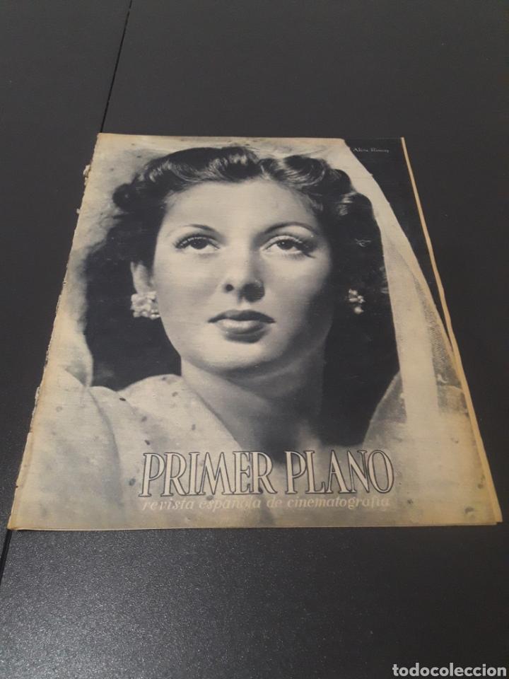 N° 187. AÑO 1944. ALICIA ROMAY, FUNNYMAN CHAPLIN, CHARLOT, ANA MARISCAL, ELFIE MAYERHOFER, RAFAEL DU (Cine - Revistas - Primer plano)