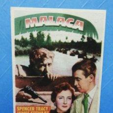Cine: MALACA FOLLETO CINE MAJESTIC TÀRREGA. Lote 243507245