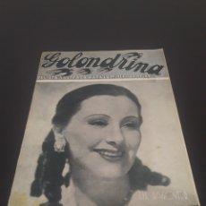 Cine: LIL DAGOVER. LA GOLONDRINA. N° 63. 24/10/1936.. Lote 243603080