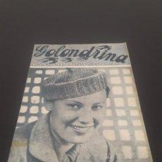 Cine: LIDA BAAROVA. LA GOLONDRINA. N° 67. 21/11/1936.. Lote 243603580