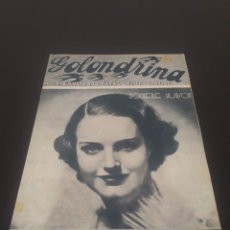 Cine: ROCHELLE HUDAON. LA GOLONDRINA. N° 69. 05/12/1936.. Lote 243603840
