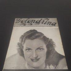 Cine: JOY HODGES. LA GOLONDRINA. N° 71. 19/12/1936.. Lote 243604195