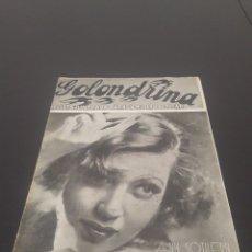Cine: ANN SOTHERN. LA GOLONDRINA. N° 75. 16/01/1936.. Lote 243605135
